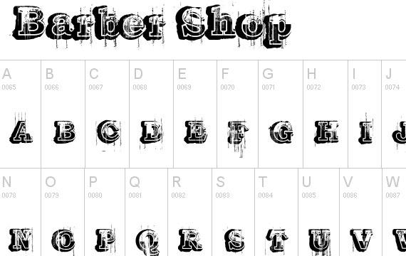 20 Useful Grunge Free Fonts for Web Designers 17