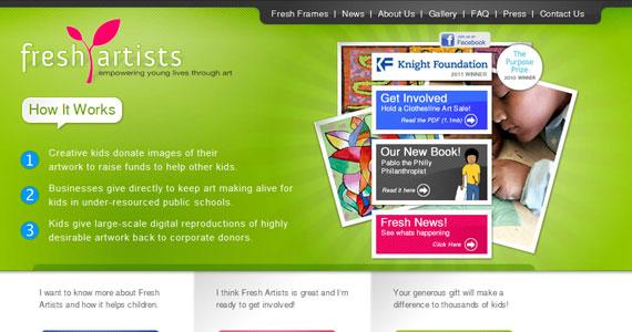 20 Creative Web Design in green Color 8