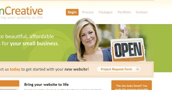 20 Creative Web Design in green Color 11