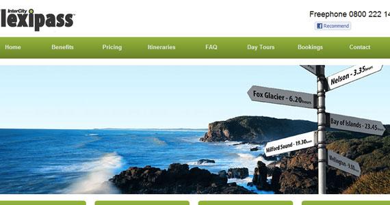 20 Creative Web Design in green Color 12