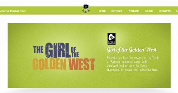 20 Creative Web Design in green Color 3