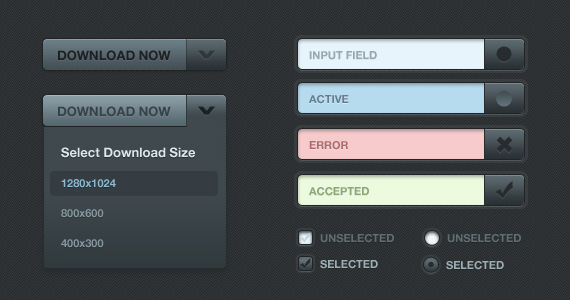 20 Essential Free Web, Mobile and Application GUI Kits 3