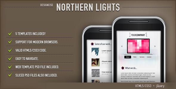 15 Exceptional Premium Mobile Template 6