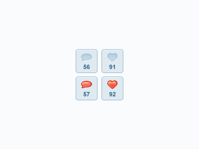 20 Beautiful Web 2.0 Button Designs For Your Inspiration 14