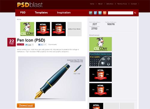 20 Blogs Offering Web Design Freebies 17