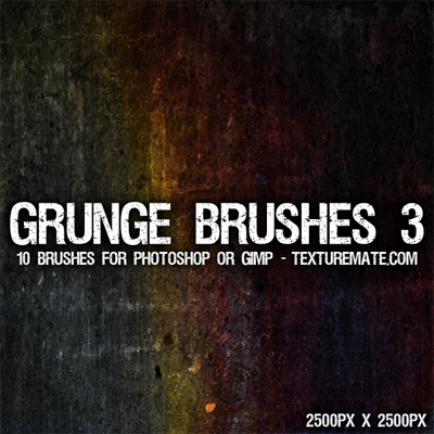 20 Free Photoshop Grunge Brushes 12