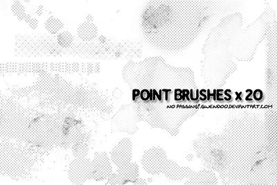 20 Free Photoshop Grunge Brushes 13