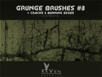 20 Free Photoshop Grunge Brushes 16