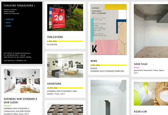 40 Impressive Grid based Web Designs for Inspiration 14