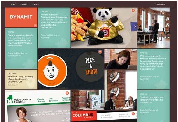 40 Impressive Grid based Web Designs for Inspiration 6