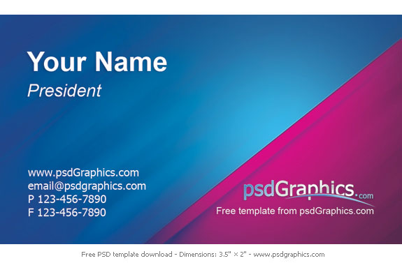 20 Free High Resolution Business Card Templates 11