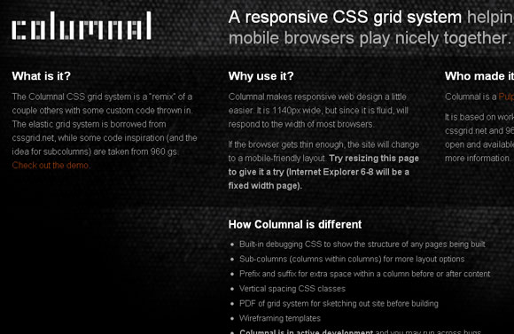 Resources: Top 10 Free Responsive CSS Frameworks for your Next Web Project 8