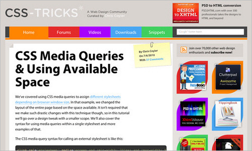 30+ Hand-Picked Resources and Tutorials for Web Developers 16