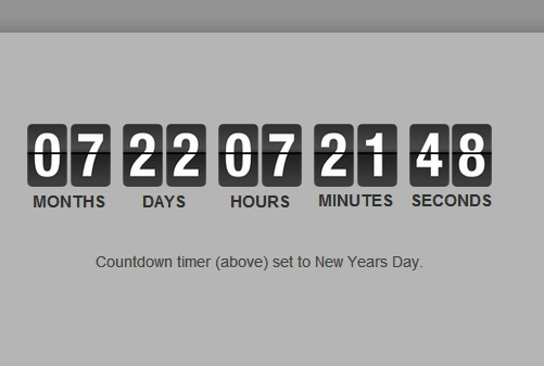 30 Impressive Countdown Timer Scripts for You 12
