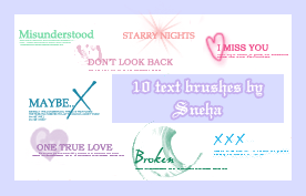 Free Resource: Text Brushes for Designers 12