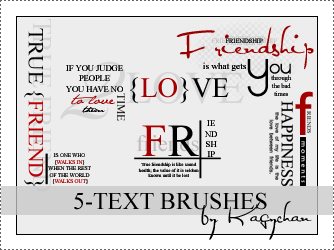 Free Resource: Text Brushes for Designers 3