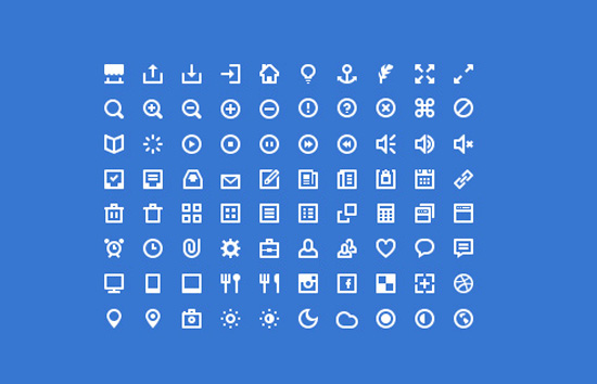 30+ Latest Free Flat Icon Sets For Your Use 5