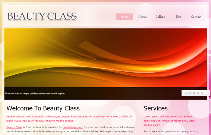 20 Free Responsive High Quality HTML/CSS Website Template 10