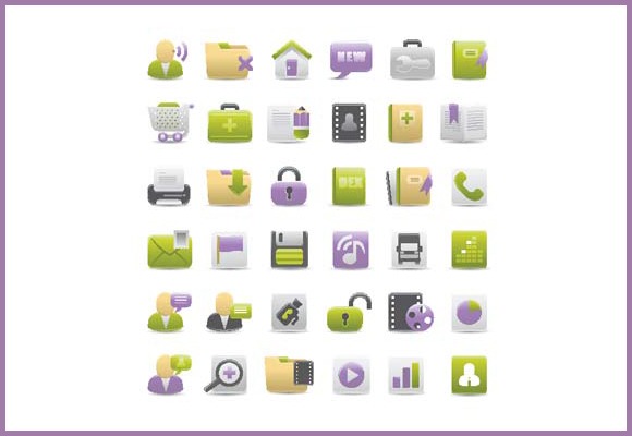 30 Best Vector Icon Packs for Designers 12