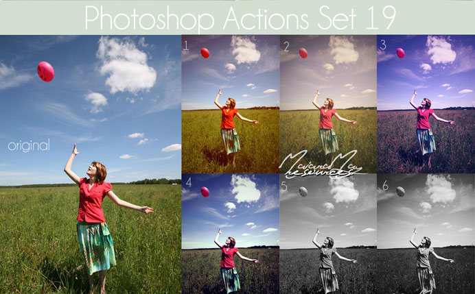 20 Free Effective Photoshop Action Tutorials and Resources 8