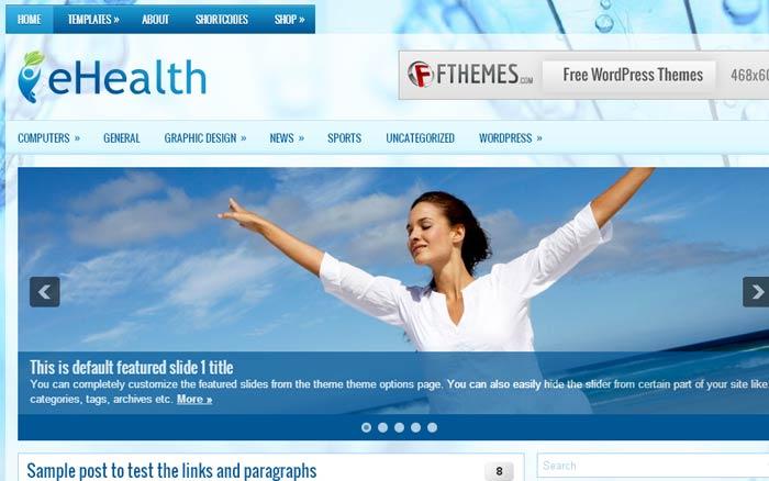20 Free and Premium Responsive Wordpress Theme 6