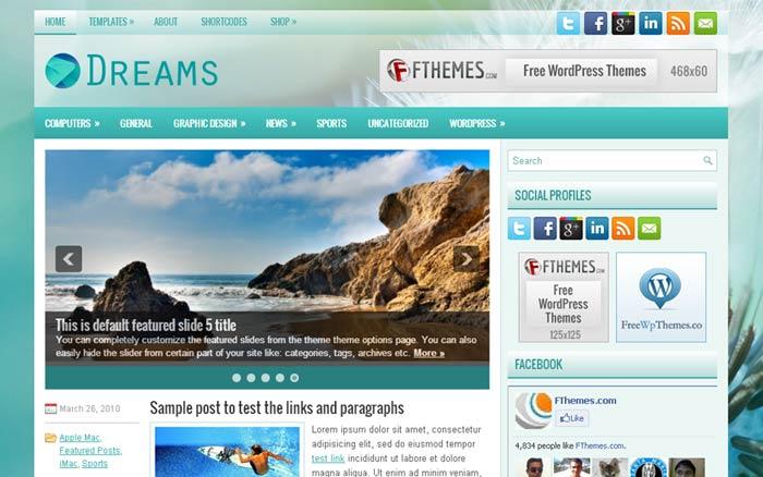20 Free and Premium Responsive Wordpress Theme 3