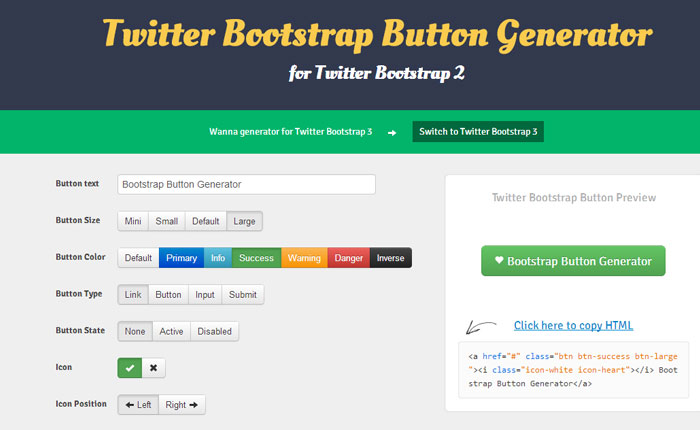 15 Useful Bootstrap Tools and Generators for Web Developers 5
