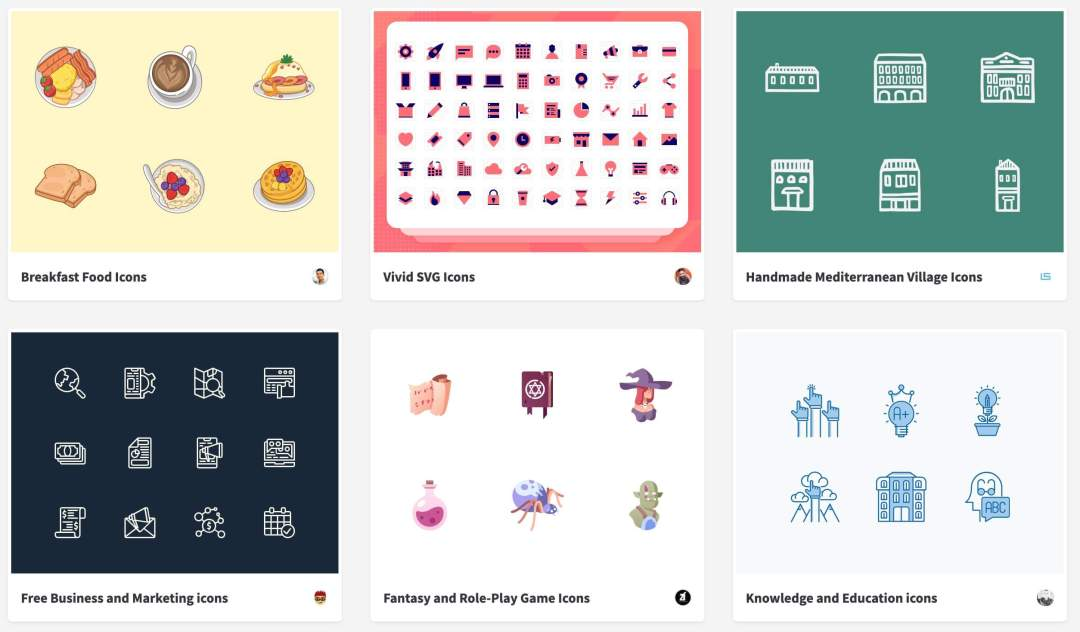 10 Awesome Websites for FREE SVG Icons to use on your Next Project 9