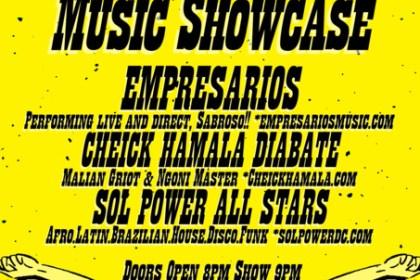 Funk Filled Afro-Latin Music Showcase at Rock & Roll Hotel, Fri. Dec 16