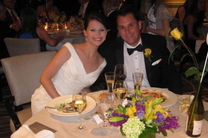 Marta and Todd's Four Seasons DC wedding