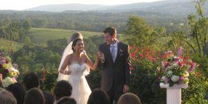 Jane and Nate's Hillsborough Vineyards wedding - DJ D-Mac & Associates