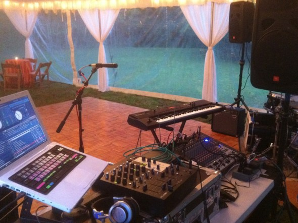 Audio & Visual Services full PA support for live music