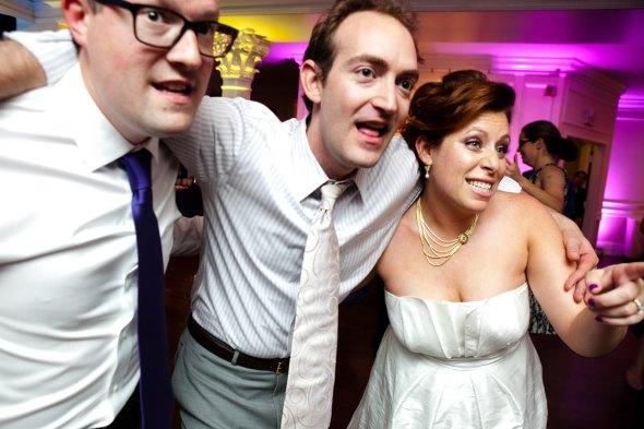 A joyful wedding celebration