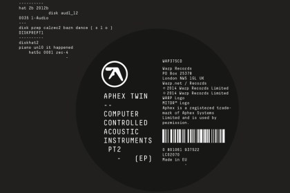 Aphex Twin - Computer Controlled Acoustic Instruments Pt. 2