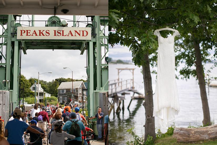 Jones Landing at Peaks Island, Maine