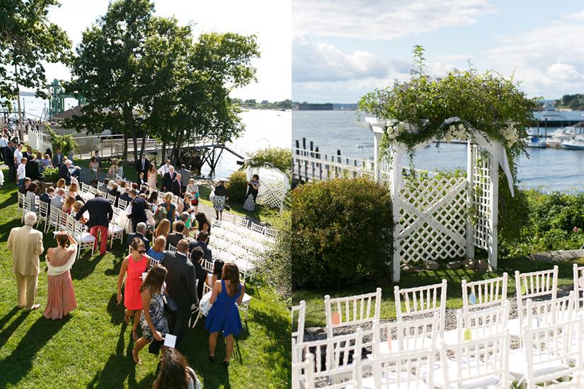 Cori & Beckett's ceremony at Harborview