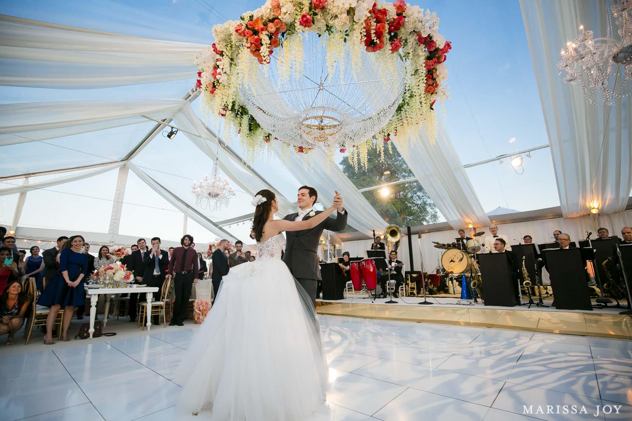 Watch: Melanie & Mark's Chesapeake Bay Wedding (Marissa Joy Photography)