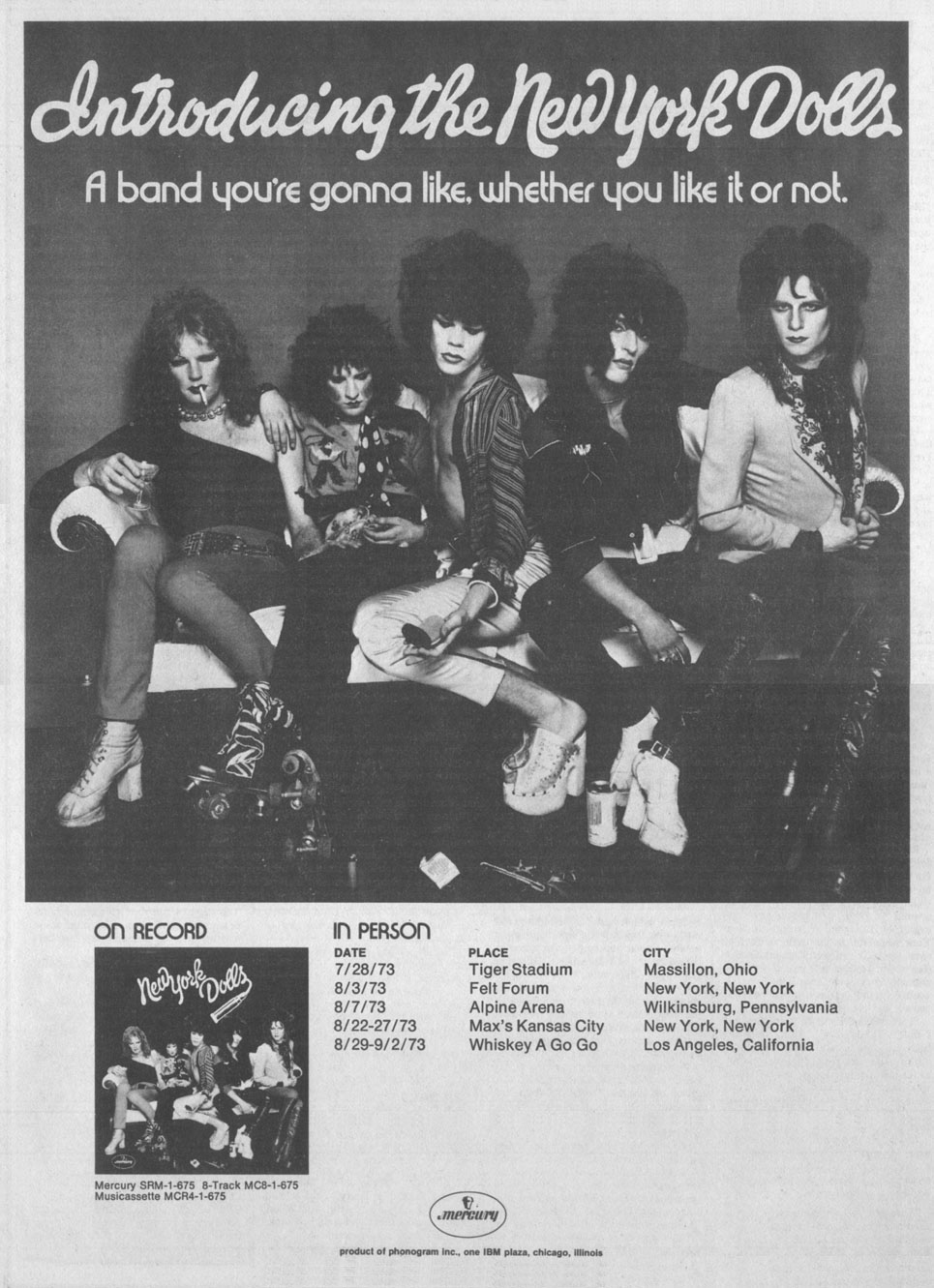 New York Dolls: A band you're gonna like, whether you like it or not
