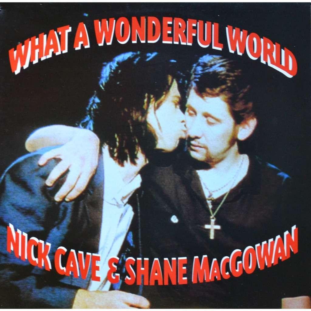 Nick Cave & Shane MacGowan What a Wonderful World