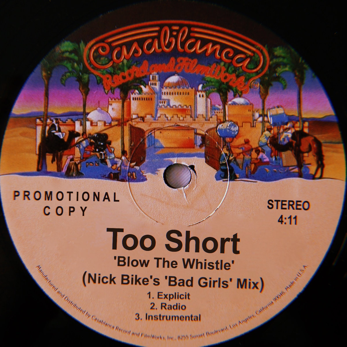 """Song of the Day: Too Short """"Blow the Whistle (Nick Bike's 'Bad Girls' Mix)"""""""