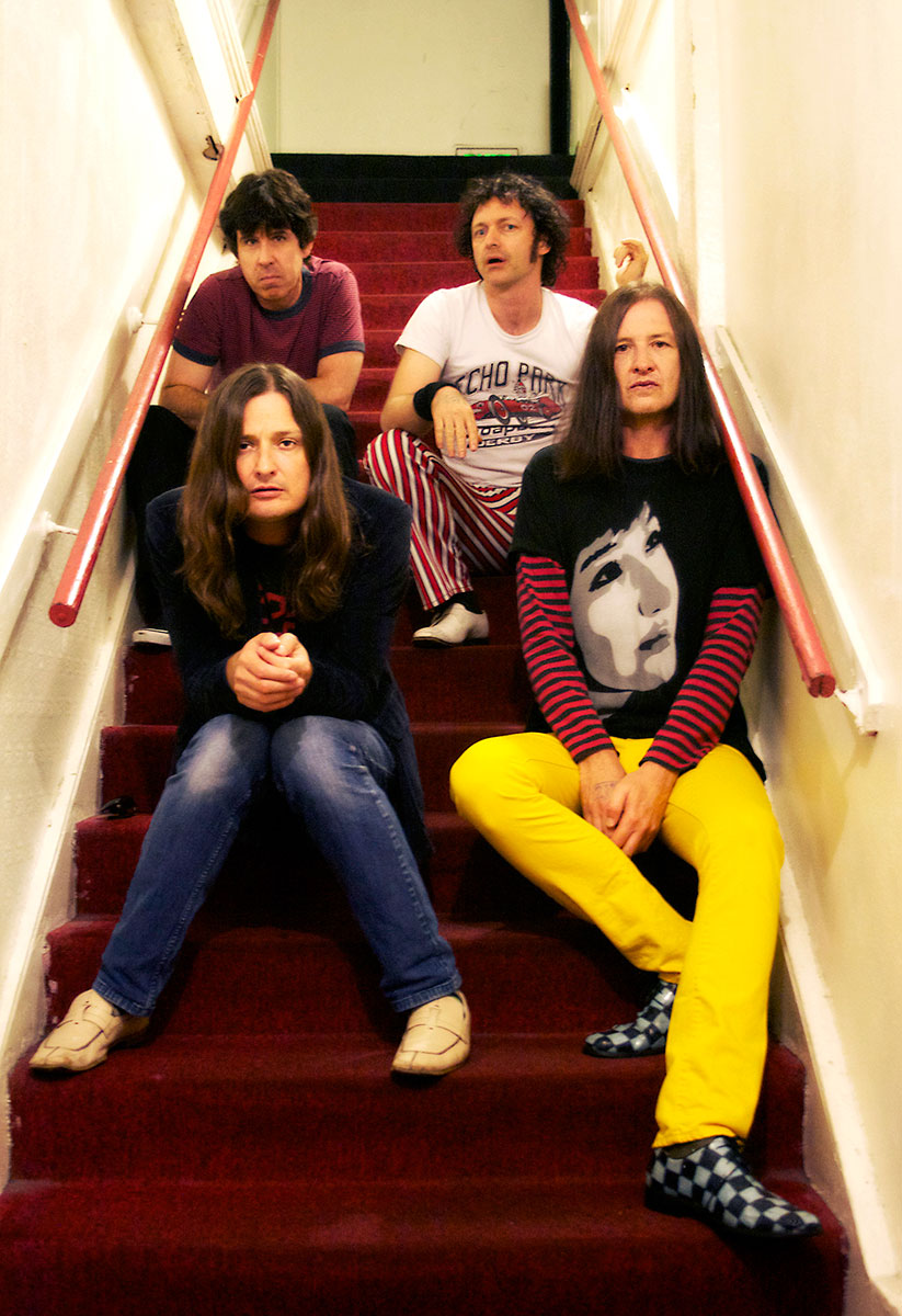 Redd Kross stairs right back at you