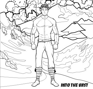 Into the Vast - featuring the character Will from the science fiction novel by DJ Edwardson