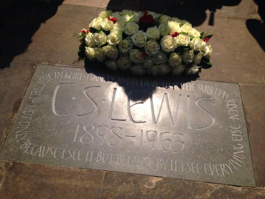 cs lewis westminster abbey memorial