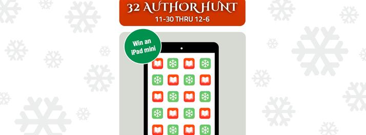 32 author scavenger hunt