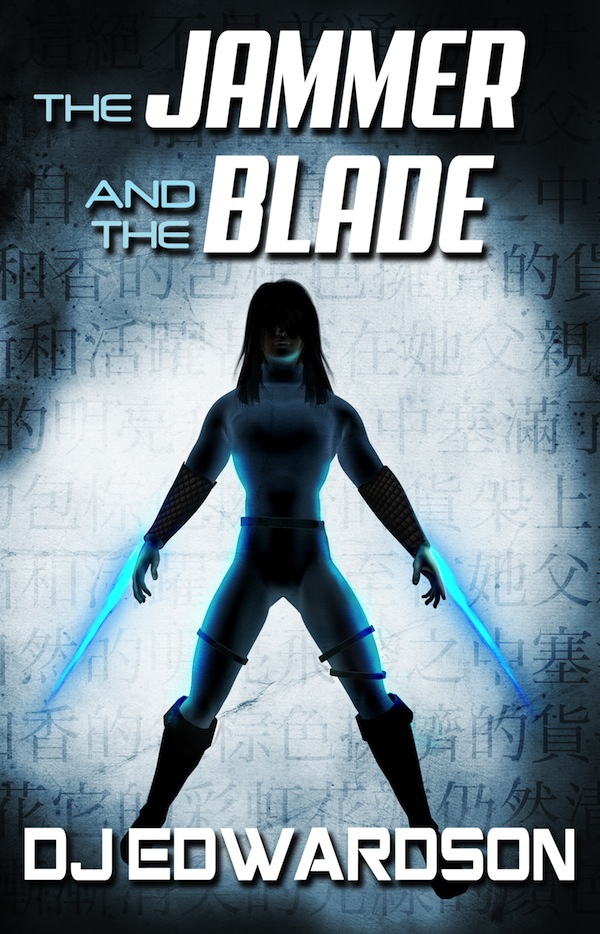 jammer and the Blade - Dystopian Science Fiction Cover