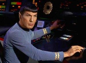spock on the starship enterprise