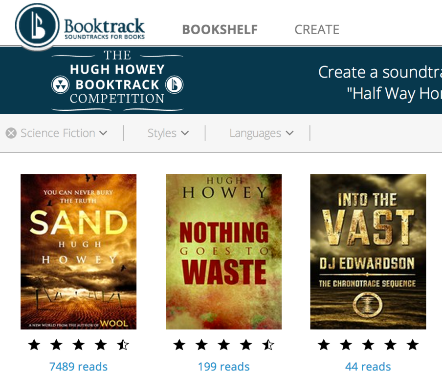 booktrack science fiction
