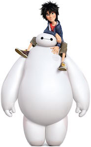 Baymax and Hiro from Big Hero 6