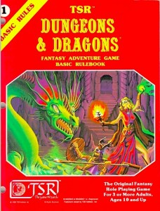 dungeons and dragons basic red book cover