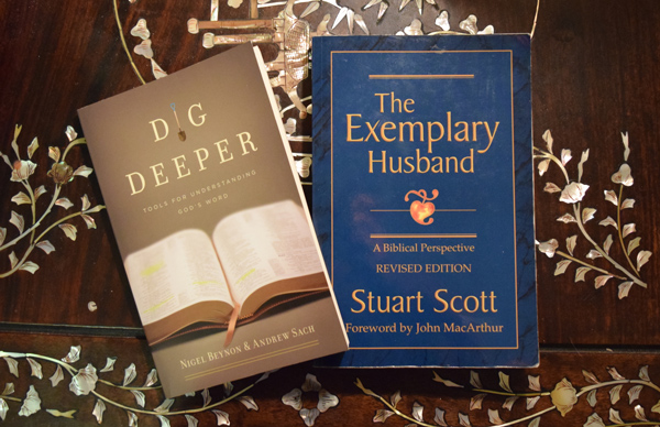 dig deeper exemplary husband books